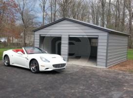 22x21x8 Vertical Garage