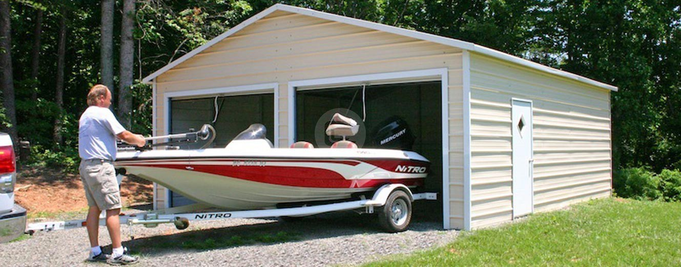 Metal Boat Carport Boat Storage Sheds Steel Boat Covers