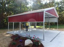 18x21x8 vertical carport