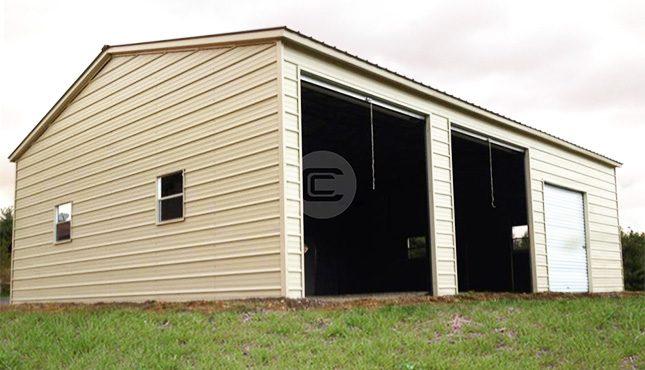 20x31x10 Vertical Garage