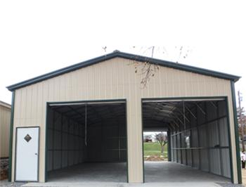 Metal Workshop Building