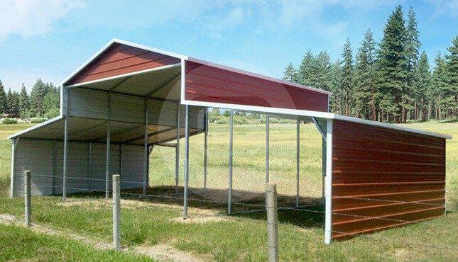 36x21x12/7 A-Frame Barn