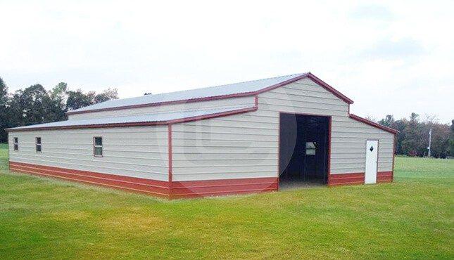 44x51 Carolina Barn