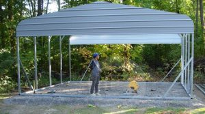Carport - Graveled Slab