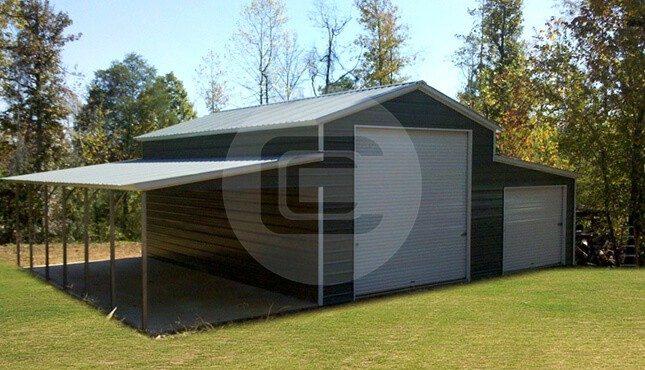 Enclosed Carolina Barn 42x31