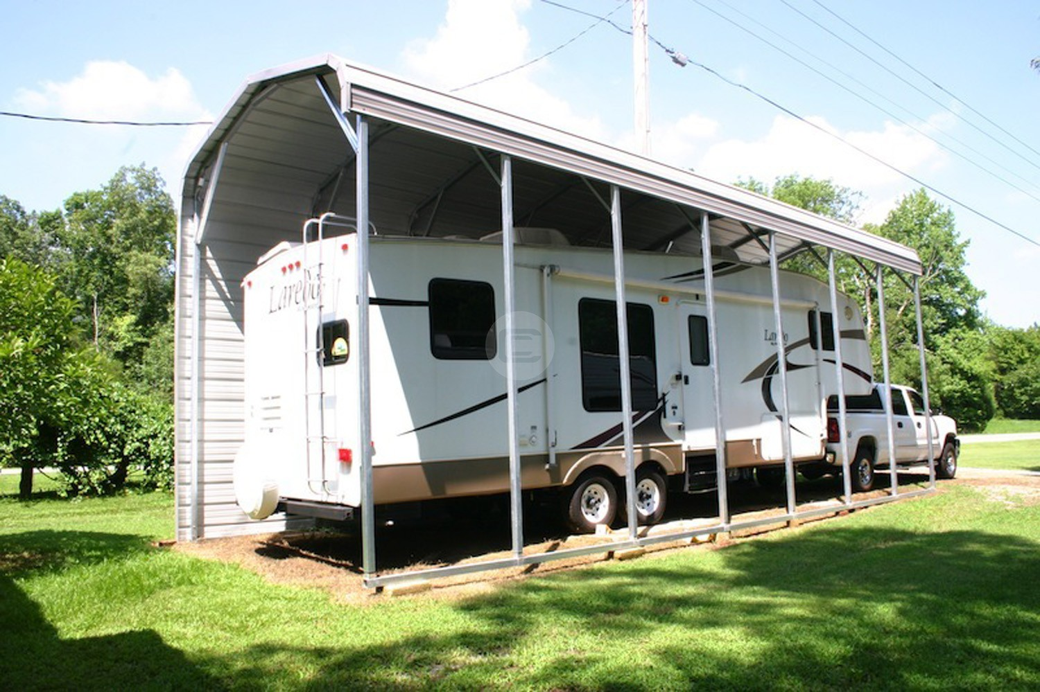 Rv Garages Carports : Choose the best rv carport for your recreational vehicle