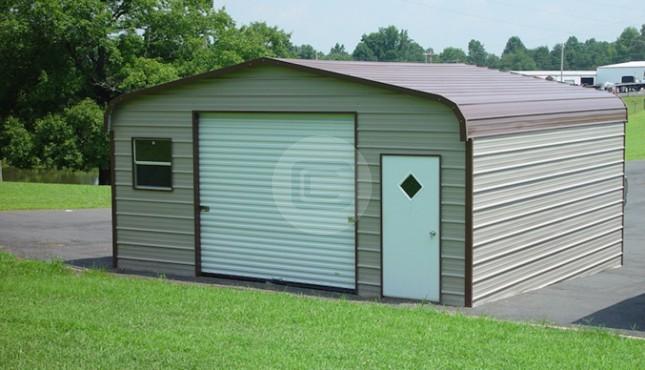 Standard Metal Garage