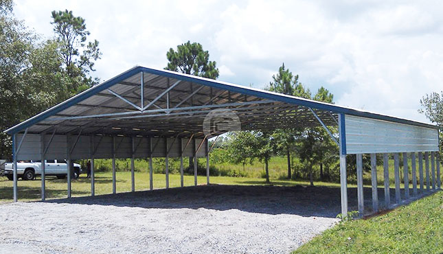 multiple-equipment-storage-shed