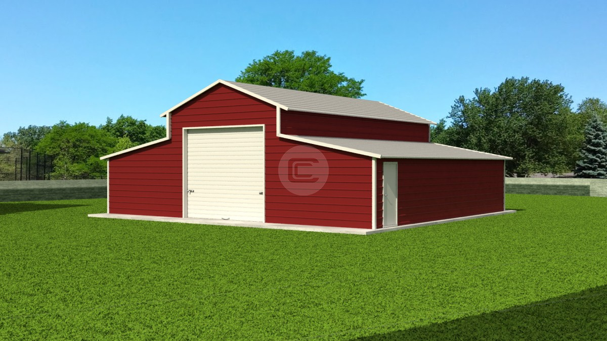 Steel Barn Applications Common Uses For Metal Barns On