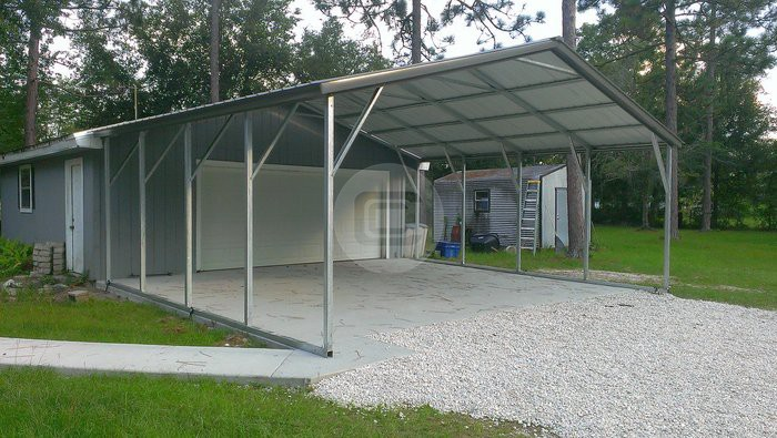Utility carports function and flexibility for your Carport with storage room