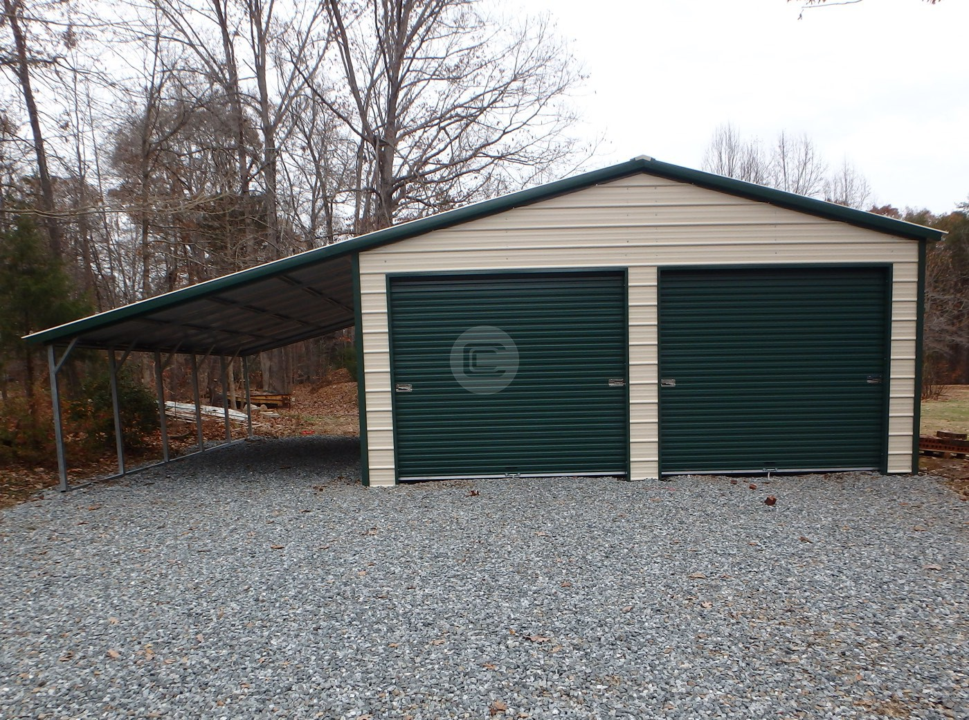 Custom Metal Garages
