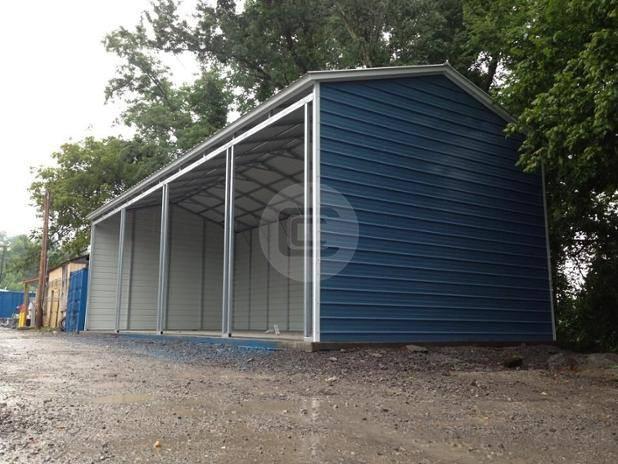 18x41x10 Side Entry Garage