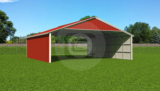 Metal buildings prices carports garages and barns for Carports online