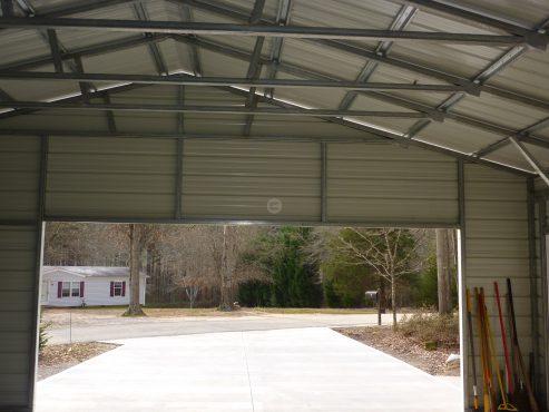 28x26x9 Steel Garage 1