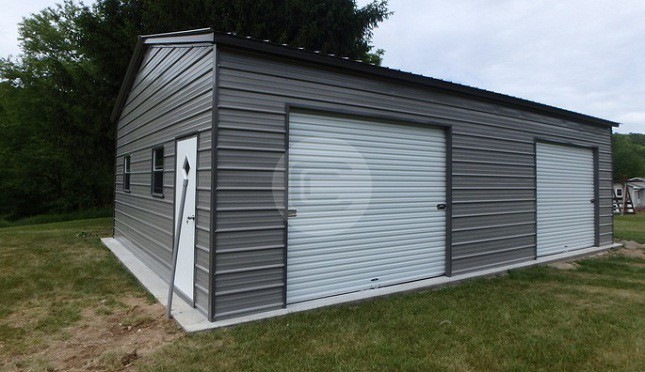 Side-Entry-Metal-Garage