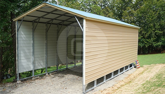 Vertical Roof Style Rv Covers Deluxe Rv Carports For Sale
